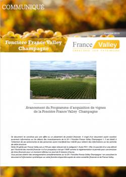 Actualités Foncière Champagne